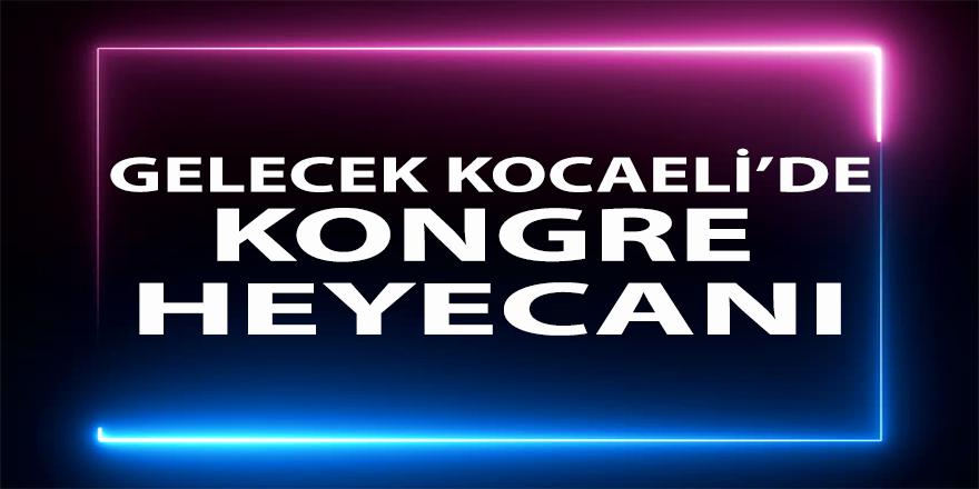Gelecek Kocaeli'de Davutoğlu heyecanı