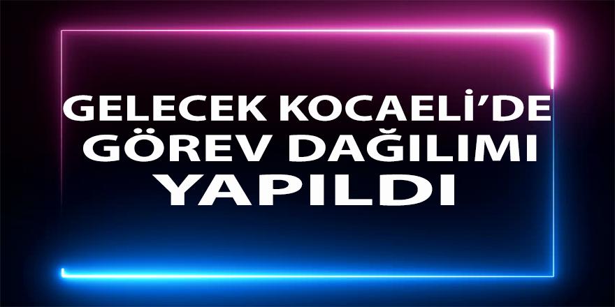 Gelecek Partisi Kocaeli'de Görev dağılımı yapıldı