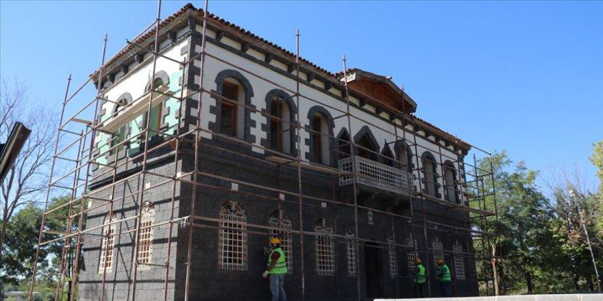 Bağ Köşkü etnografya müzesine dönüştürülüyor