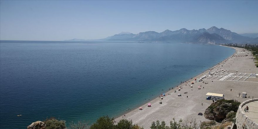 'Turizmin başkenti' Antalya 170 ülkeden 2 milyon misafiri ağırladı