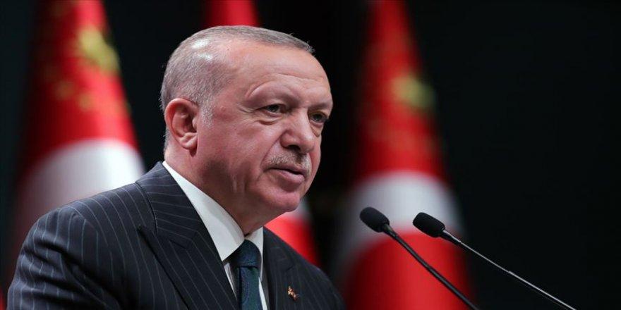 Erdoğan: Sorunları diyalog yoluyla bir çözüme kavuşturmak niyetindeyiz
