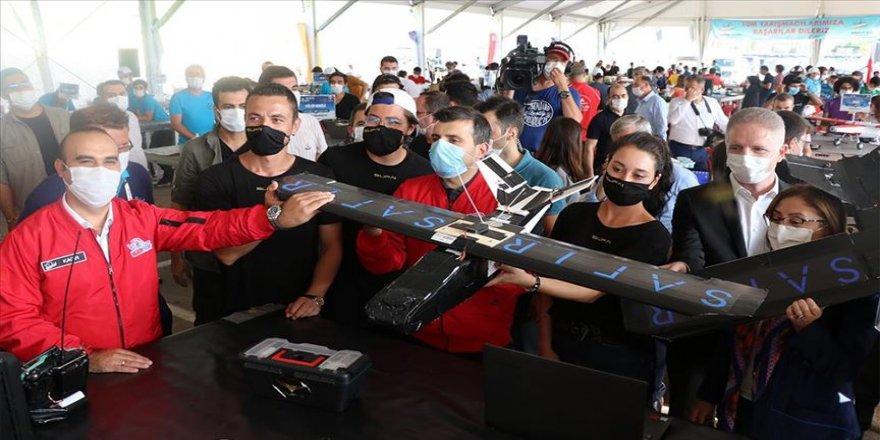 Gaziantep'te TEKNOFEST kapsamında İHA yarışları düzenlendi