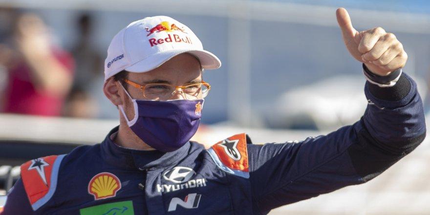 Türkiye Rallisi'nin yeni lideri Thierry Neuville
