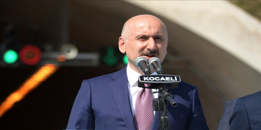 Bakan Karaismailoğlu: Kuzey Marmara Otoyolu boğaz köprülerindeki trafiğin yoğunluğunu azaltmayı başarmıştır
