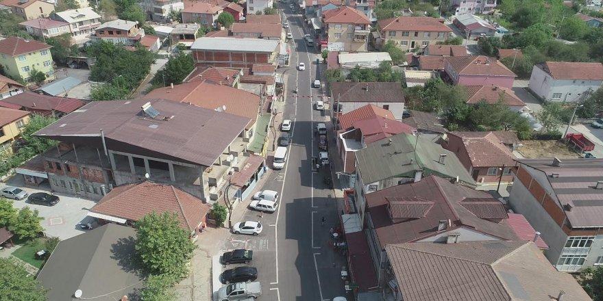 Köseköy'de caddeler daha konforlu