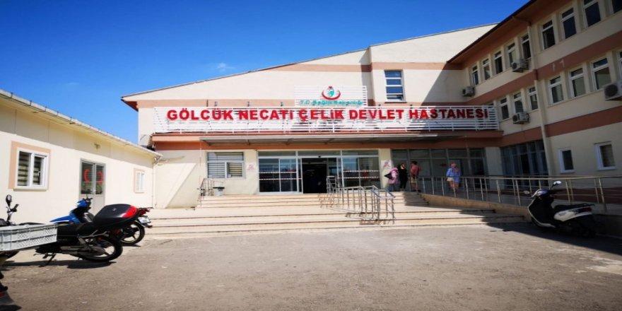KOCAELİ GÖLCÜK'TE İŞ KAZASI 1 YARALI