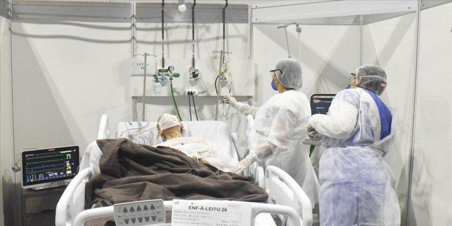 Kovid-19'dan son 24 saatte Hindistan'da 1053, Brezilya'da 455, Meksika'da 204 kişi öldü