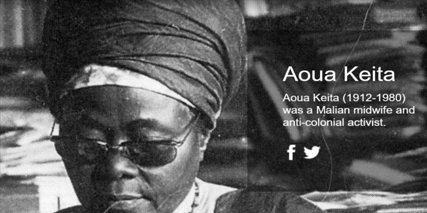 Ebelikten vekilliğe; Fransız Batı Afrikası'nın ilk kadın milletvekili Aoua Keita