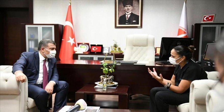 Sağlık Bakanı Koca, Keçiören Eğitim ve Araştırma Hastanesini ziyaret etti