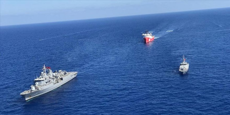 Yunanistan ve GKRY Sevilla haritasıyla Türkiye'yi Antalya Körfezi'ne hapsetmeye çalışıyor