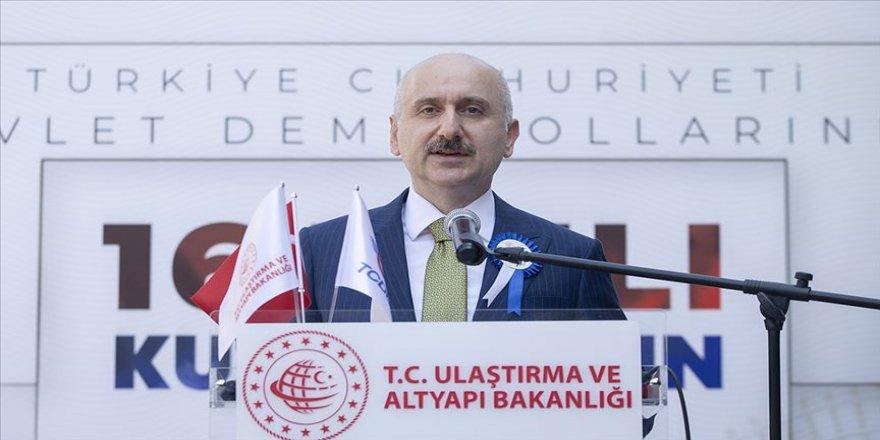 Bakan Karaismailoğlu: Yeni İpek Yolu'nun en önemli geçişi bölgemizin lojistik süper gücü olacağız