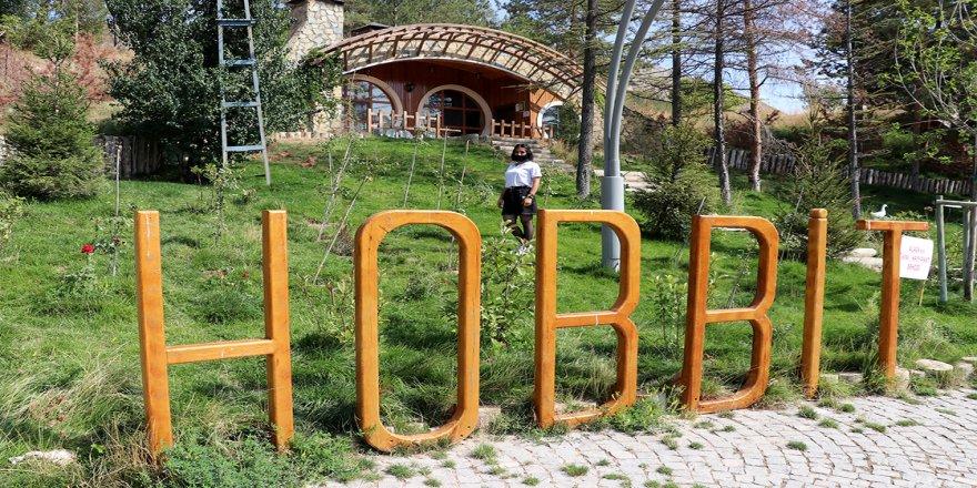 Sivas'ın 'Hobbit evleri' pandemi sürecinde ilgi görüyor