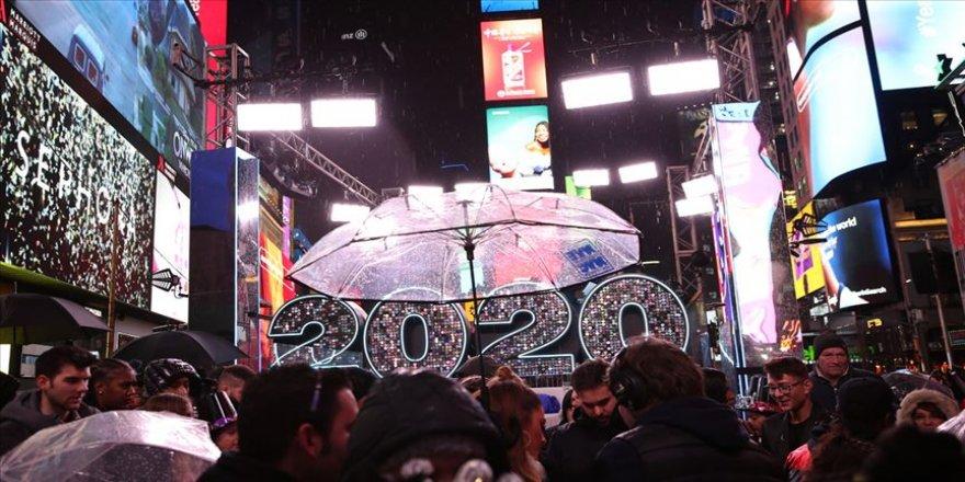 New York Times Meydanı'ndaki yılbaşı kutlaması Kovid-19 nedeniyle bu yıl sanal ortamda yapılacak