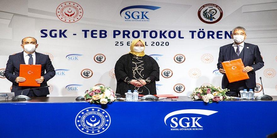 Aile Çalışma ve Sosyal Hizmetler Bakanı Selçuk: SGK-TEB ilaç alım protokolü 1 Ekim 2020'de yürürlüğe girecek