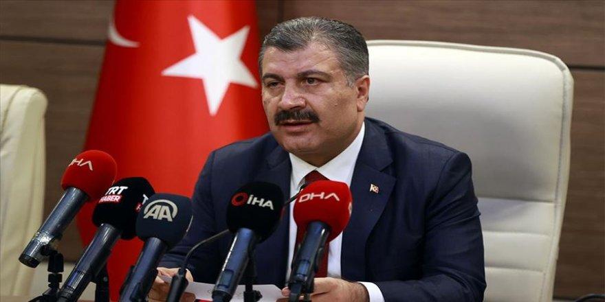 Sağlık Bakanı Koca: Tedbirleri uygularsak influenza virüsünden de korunmuş oluruz