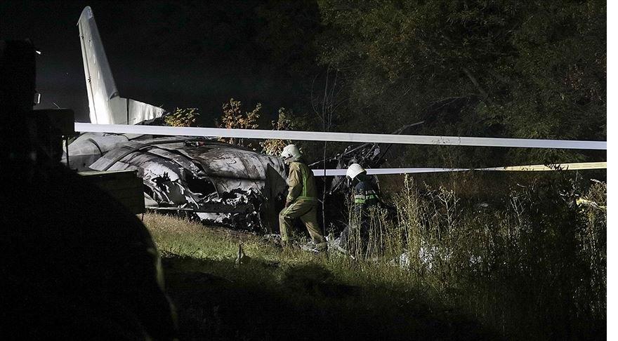 Ukrayna'nın Harkov bölgesinde askeri uçağın düşmesi sonucu ölenlerin sayısı 26'ya yükseldi