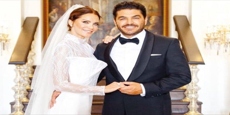 Ebru Şallı'dan birinci evlilik yıl dönümü