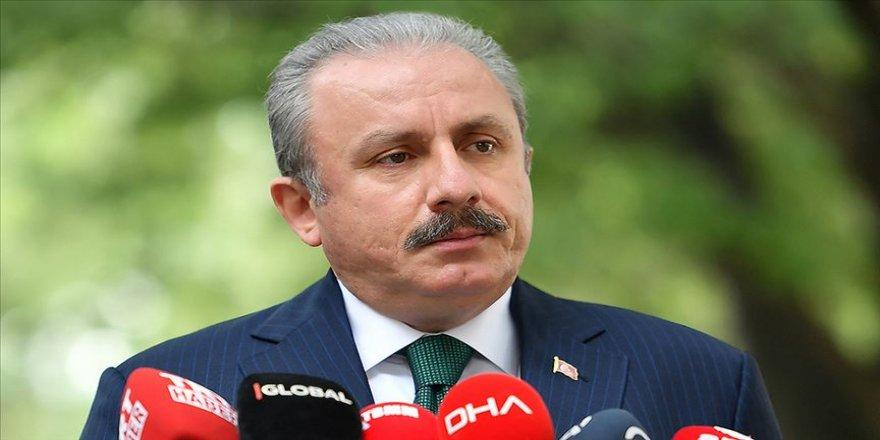 TBMM Başkanı Şentop: Türkiye Azerbaycan'ın yanında bütün gücüyle durmaya devam edecektir