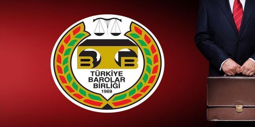 Türkiye Barolar Birliği Ermenistan'ın Azerbaycan'a saldırısını kınadı