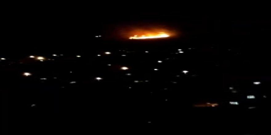 Gebze'de ormanlık alanda yangın ! Dört dönüm çam ormanı yandı