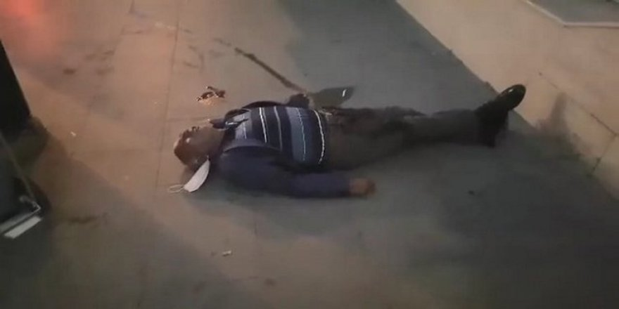 Gebze'de hastane önünde yere yığılan adam gözler önünde hayatını kaybetti