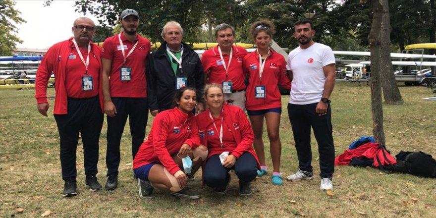 Gençler Avrupa Kürek Şampiyonası'nda bronz madalya