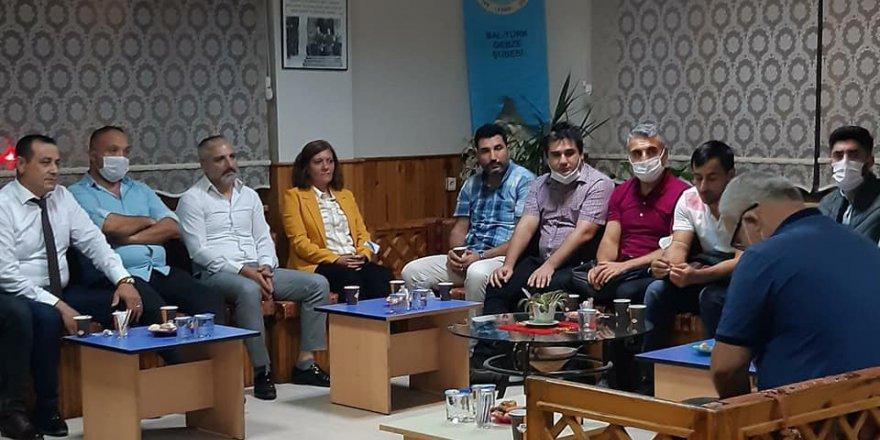 Gelecek Partisi Gebze'den,Gebze Balkan Türkleri Derneği'ne ziyaret