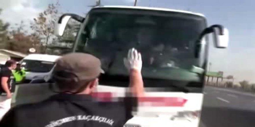 Gebze 'de 14 düzensiz göçmen yakalandı