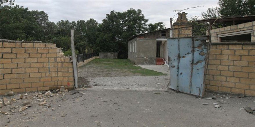 Ermenistan ordusu Azerbaycan'ın Terter kentine top atışı gerçekleştirdi