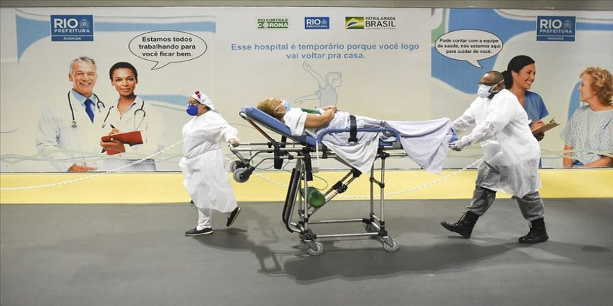 Kovid-19 nedeniyle son 24 saatte Hindistan'da 1178, Brezilya'da 863 kişi öldü