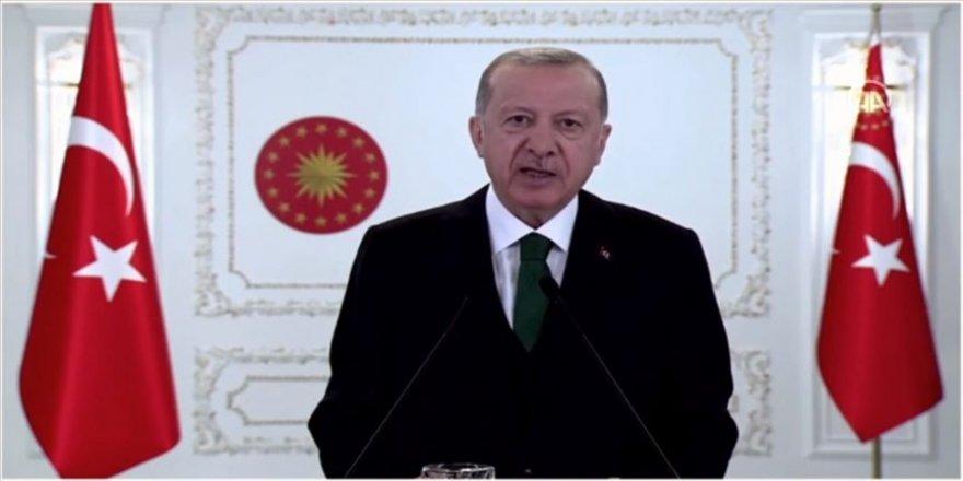 Cumhurbaşkanı Erdoğan: Kovid-19 salgını ekosistemdeki bozulmanın yansımalarından birisidir