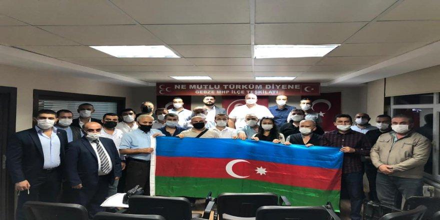 MHP Gebze'den Azerbaycan'a destek