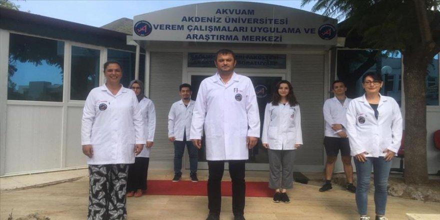 Akdeniz Üniversitesinden tüberküloz hastalığına erken tanı sağlayacak yöntem