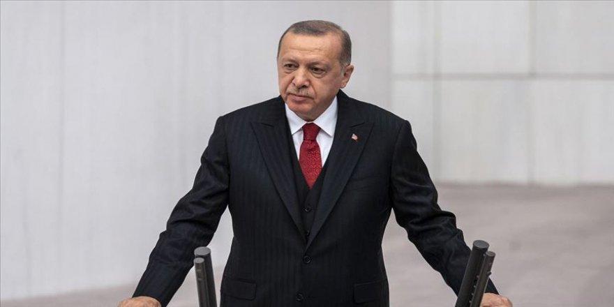 Cumhurbaşkanı Erdoğan: Azerbaycanlı kardeşlerimize tüm imkanlarımızla destek vermeyi sürdüreceğiz