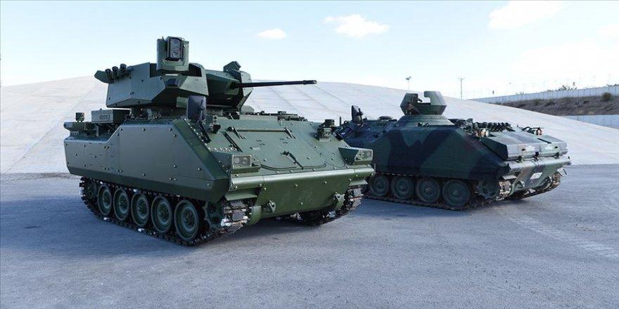 Türkiye zırhlı muharebe araçlarını güçlendiriyor