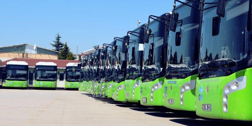 109 yeni otobüs ihalesine 7 firma teklif verdi