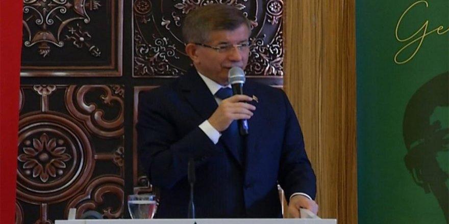 Davutoğlu, Cumhur İttifakı'na ve tüm partilere Doğu Türkistan çağrısında bulundu