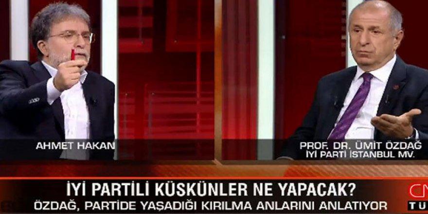 Özdağ:İl Başkanımız FETÖ'cü, Meral Akşener'in haberi vardı