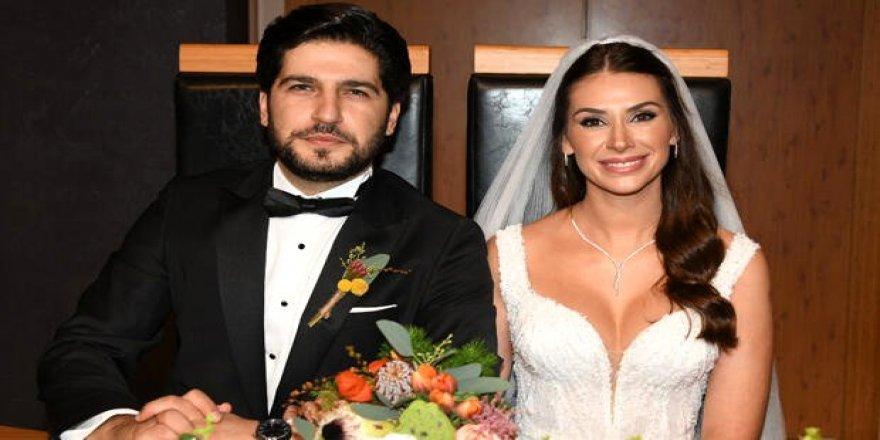 Oyuncu Begüm Birgören ve Mehmet Cemil Dünya evine girdi
