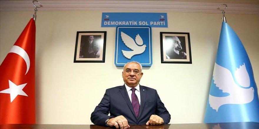 DSP Genel Başkanı Aksakal: AB ülkeleri artık KKTC'yi tanımalı