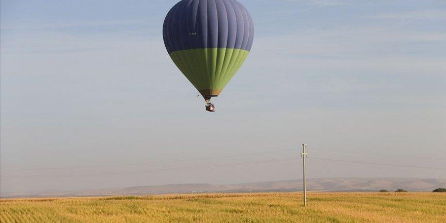 Göbeklitepe'de Rus turist acenteleri temsilcilerine balonlu tur