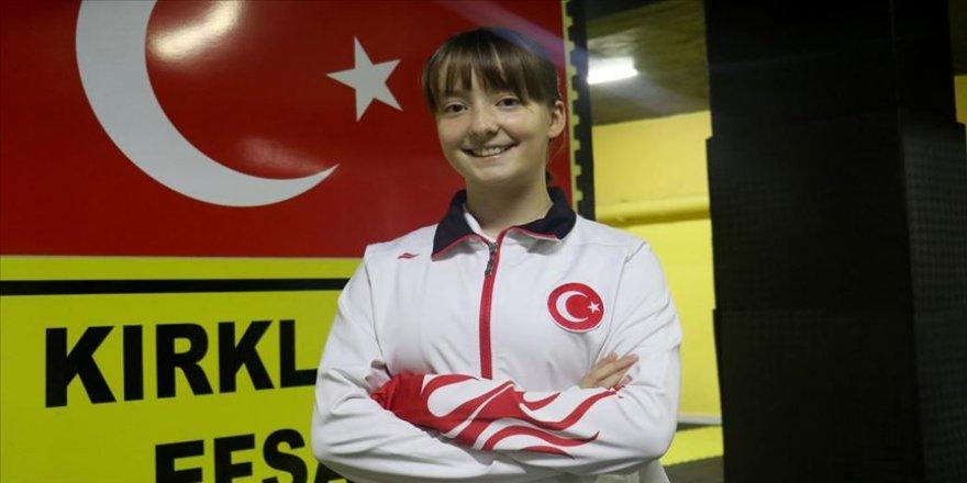 Milli sporcu Rümeysa Nur Ergin tekvandoda 'en iyi isim' olmak istiyor