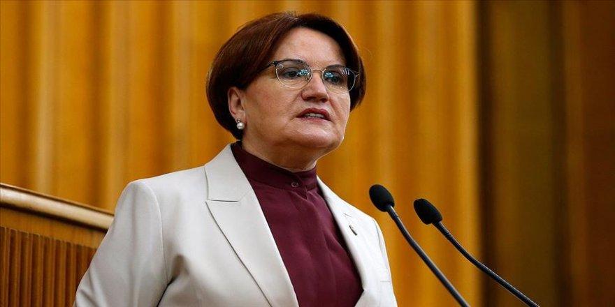 İYİ Parti Genel Başkanı Akşener: İstanbul İl Başkanımız Ümit Özdağ hakkında suç duyurusunda bulunacak