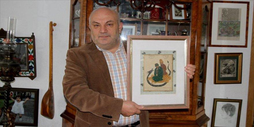 Hacı Bektaş Veli'nin en eski tablosunu Almanya'daki müzayededen satın aldı