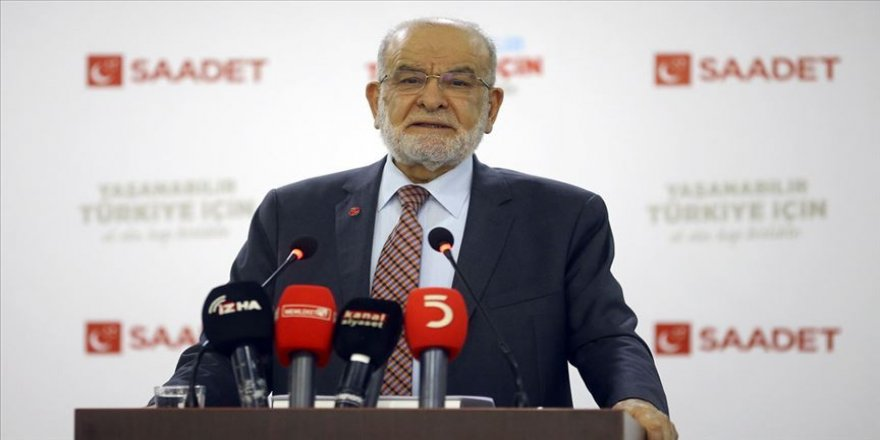 Saadet Partisi Genel Başkanı Karamollaoğlu: Bu saldırılar karşısında sessiz kalanlar tarih önünde hesap vereceklerdir