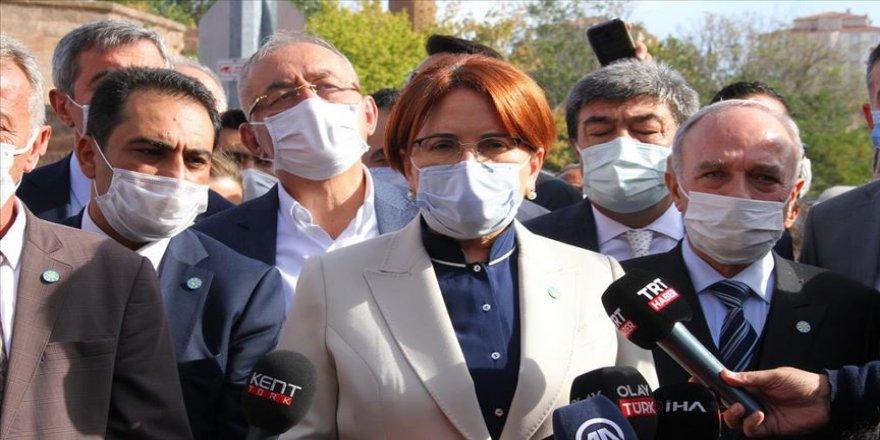 İYİ Parti Genel Başkanı Akşener: Mahkeme bir karar verecek, o zaman akla kara birbirinden ayrılacak