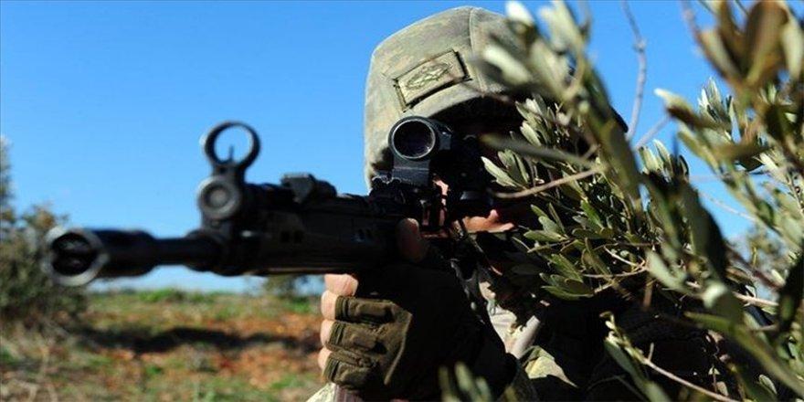Barış Pınarı bölgesine sızma girişiminde bulunan 3 terörist etkisiz hale getirildi