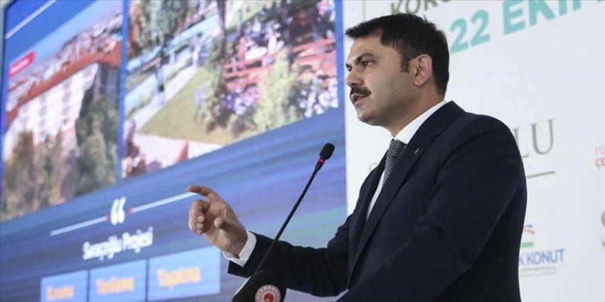 Bakan Kurum: Yeni Saraçoğlu Mahallesi Ankaralıların en güzel anılarını biriktirmeye yeniden başlayacak
