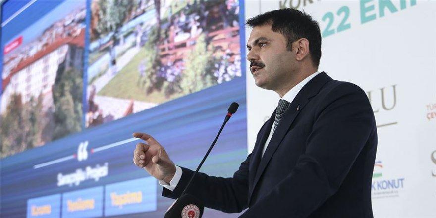 Çevre ve Şehircilik Bakanı Kurum: Önümüzdeki dönem şehirlerimizin dünya şehirleriyle yarışacağı bir dönem olacak