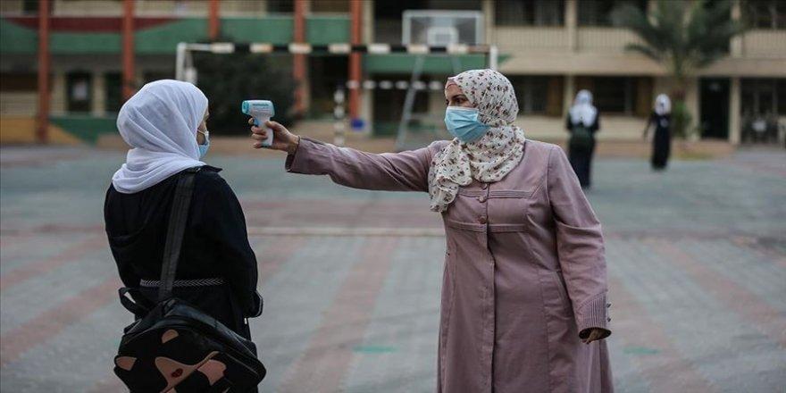 Filistin'de Kovid-19 vaka sayısı 60 bini geçti
